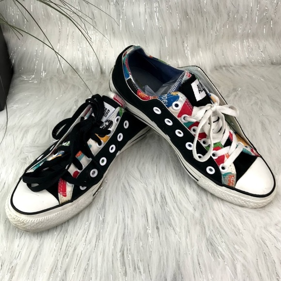 2f13732b06a6 Converse Shoes - Converse All Star Double Upper Canvas M 8  Wo 10